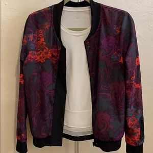 Fabletics floral light weight jacket